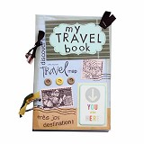 BUKU UNIK My Travel Book [PCBB-39] - Scrapbook and Patchwork